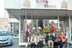 Besuch im Bank Bistro