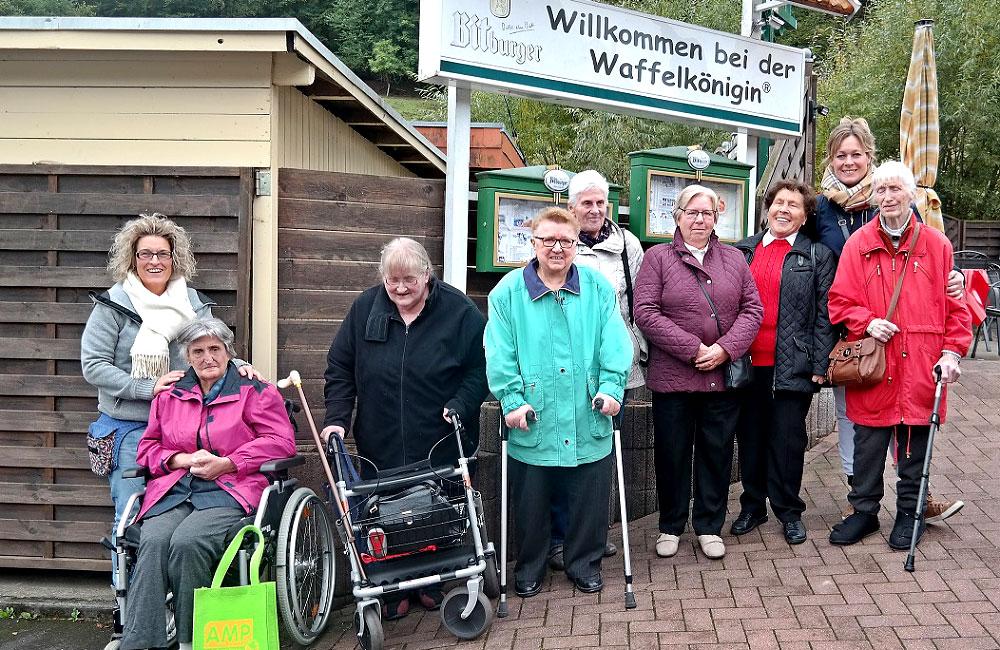 Ausflug Bad Wildungen: Waffelkönigin 4